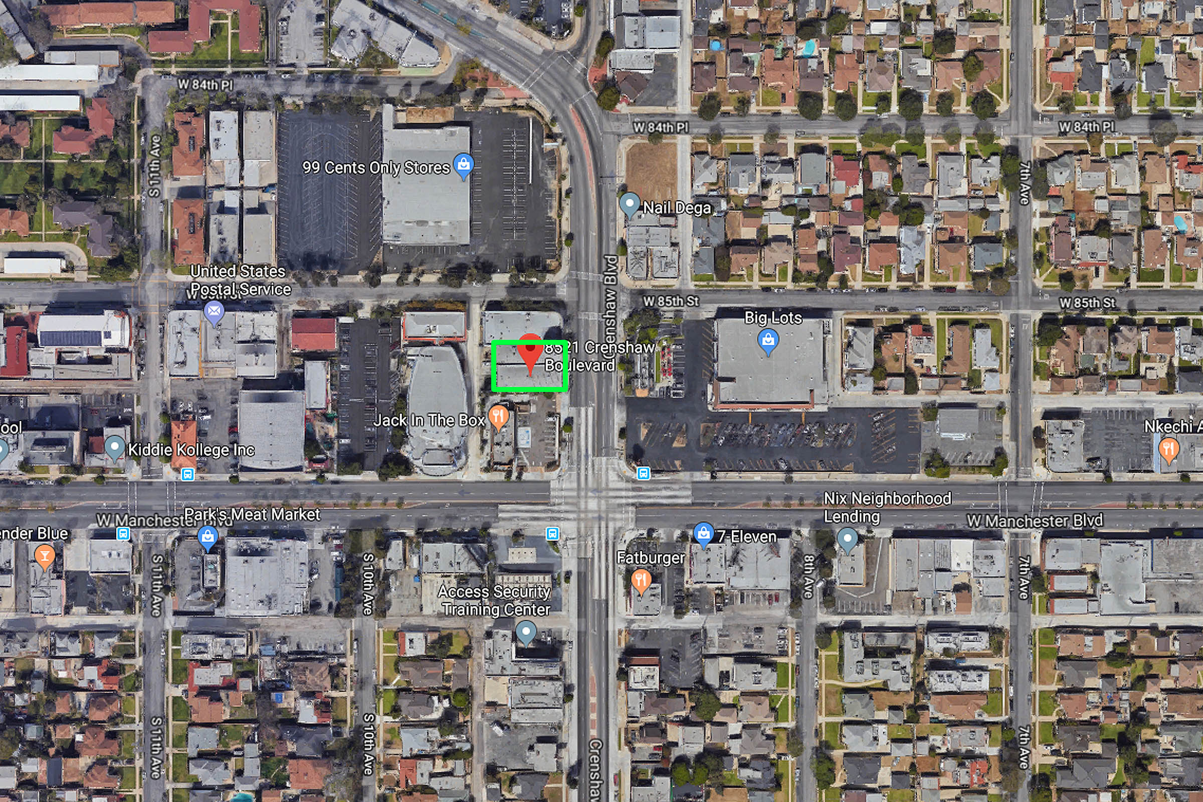 8519-8521 Crenshaw Blvd, Inglewood | For LEASE